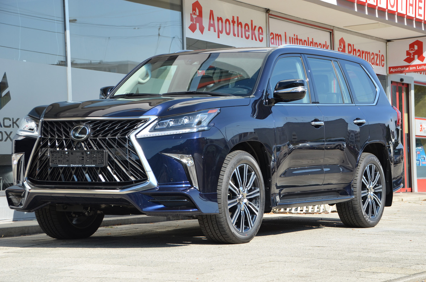 Lexus LX 570 2019 F-SPORT FULL OPTIONED EU NAVI EU REG ...